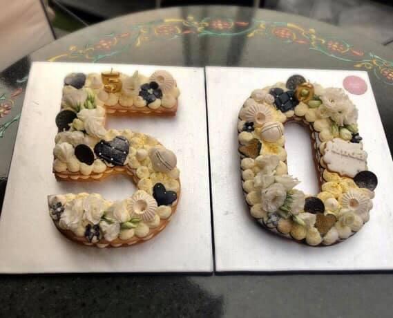 50 ANNI CAKE DESIGN