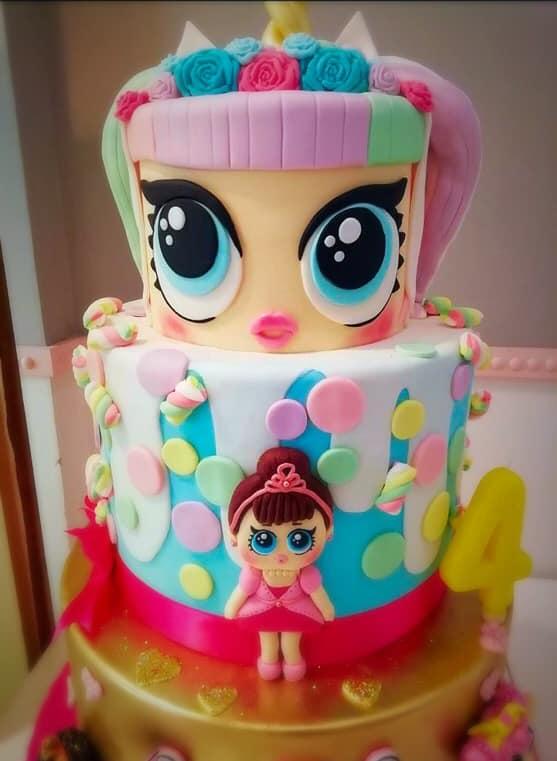 LOL CAKE DESIGN